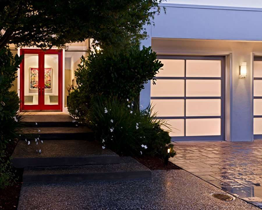 Glass garage door bay area larger harrell remodeling for Bay area garage doors