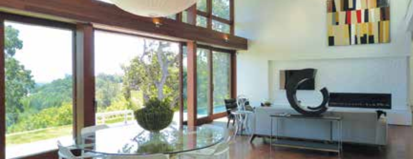 innovative doors integrate interior with exterior harrell