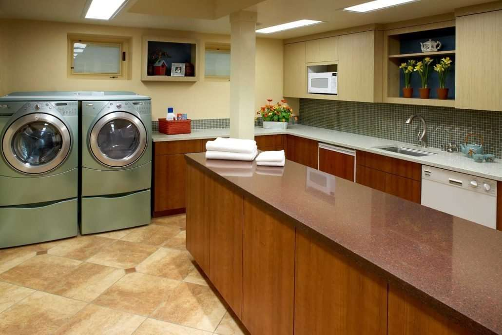 5 Universal Design Ideas for Beautifully Functional Laundry ...