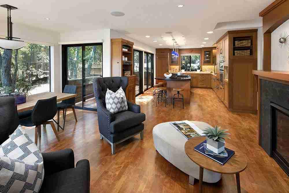 Universal design living room